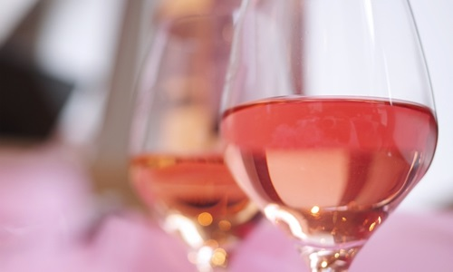 ロゼワインのイメージ