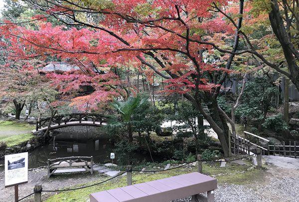 揚輝荘の庭園
