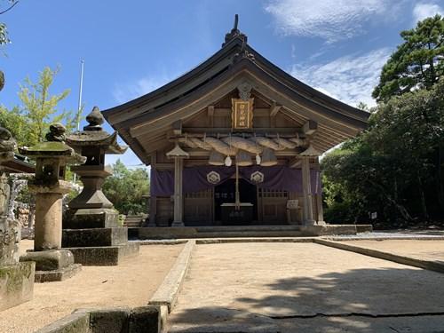 白兎神社本堂