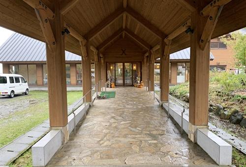 清泉寮の外観