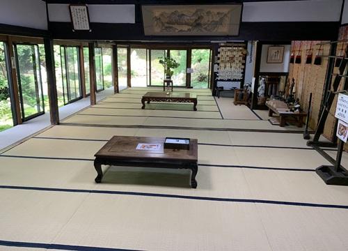 お寺の和室