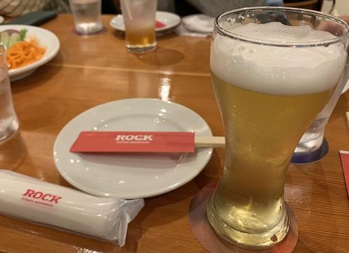 ROCKのビール