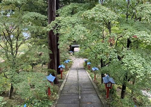 ぶどう寺からの景色