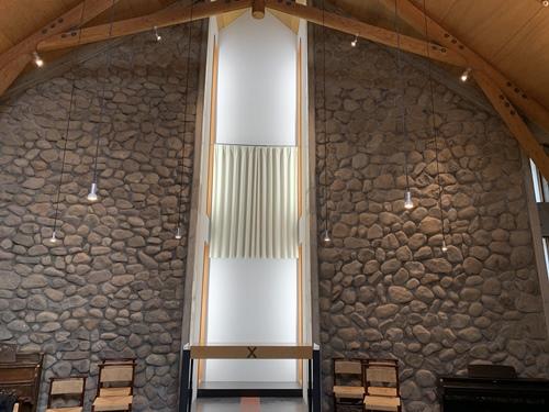 教会の朝食会場