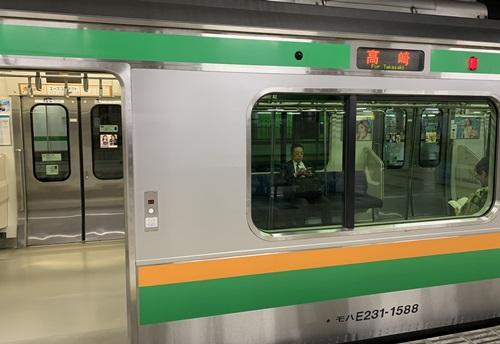 高崎行きの電車
