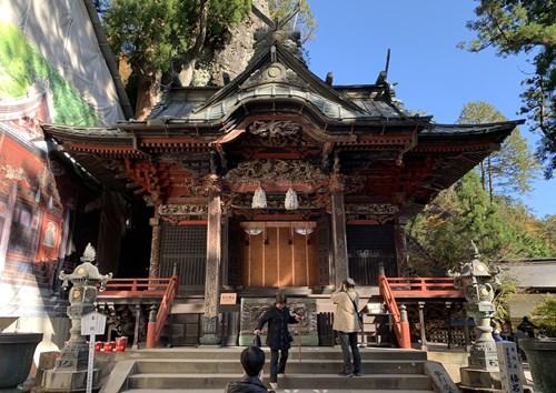 榛名神社本堂