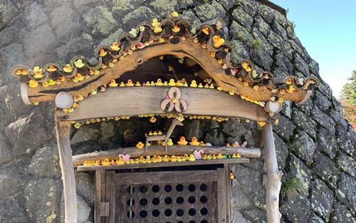 アヒル神社