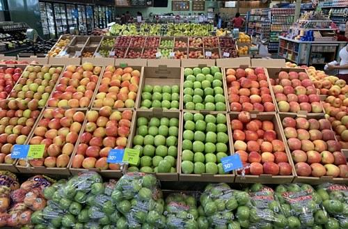 ホールフーズマーケットの果物