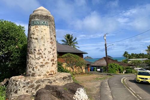 ラニカイの石柱
