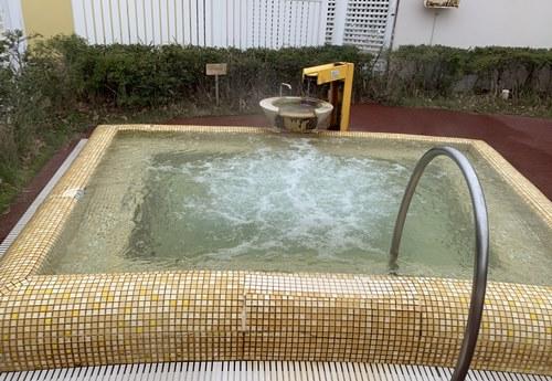 ミニ露天風呂