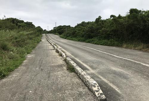竹富島の道①