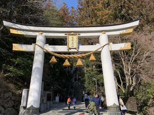 宝登山神社の鳥居