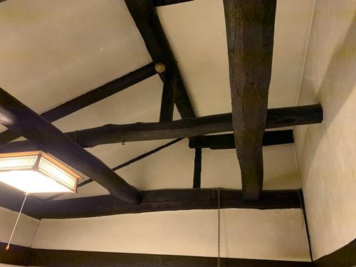 新木鉱泉の天井