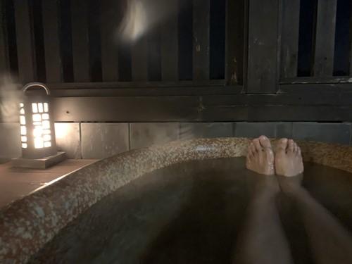 御代の湯露天風呂