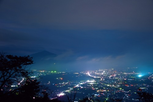 美の山公園からの夜景