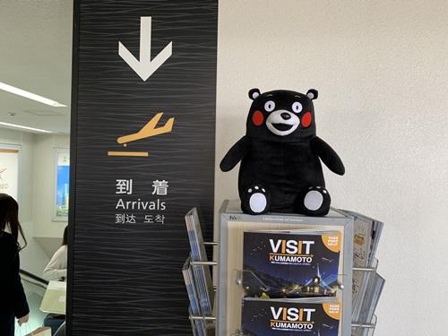 熊本空港到着口