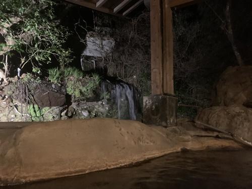 大朗館の滝見風呂