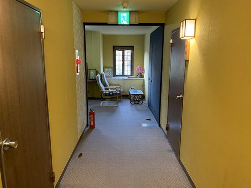 大朗館の廊下