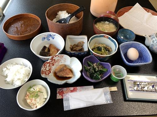 大朗館の朝食