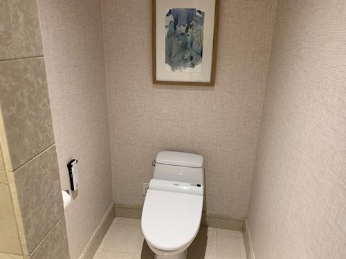 部屋のウォシュレットトイレ
