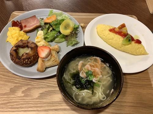 朝食メニュー①