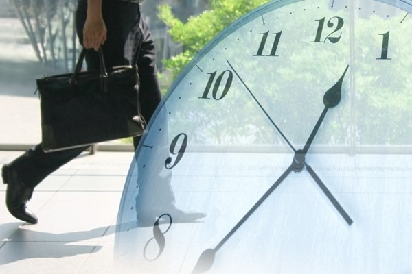 通勤時間のイメージ