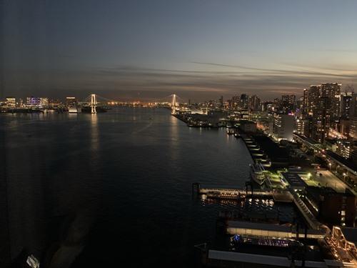 部屋からの眺め_夕方②