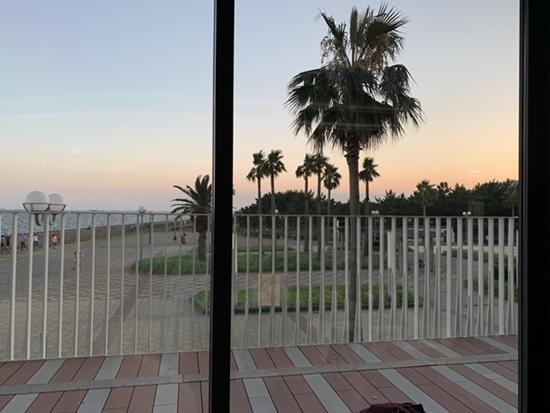 コーラルテーブルからの眺め